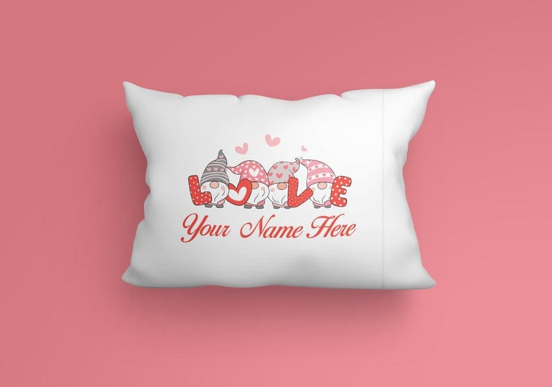 Customizable pillow case