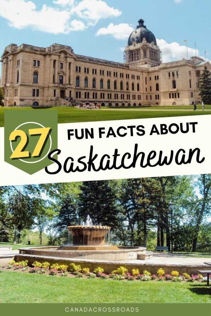 Read all the interesting and fun facts about Saskatchewan - from history, provincial icons, sports, food, festivals, and more