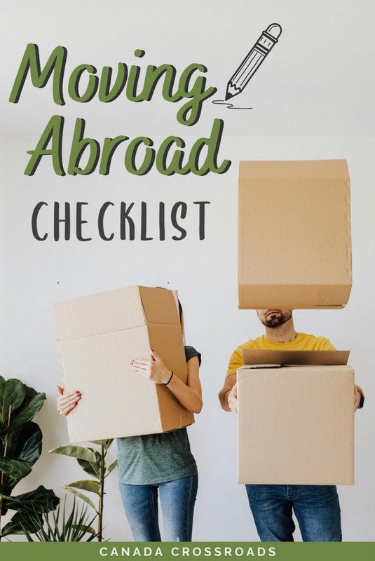 Pin for moving checklist