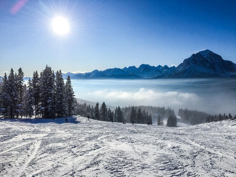 ski season in Lake Louise
